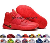 ball thread - New Kyrie Irving Shoes Mens Basketball Shoes Kyrie Bright Crimson Tie Dye BHM Basket Ball Olympic Men Kyrie s Shoes Sneakers For Sale