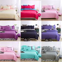 Wholesale Factory bedding package double speed sold and retail sales sanding bedspread quilt pillow