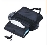 Wholesale Ice bag backpack Black Oxford cloth Multifunctional car seats carry bag OPP bags