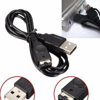 500pcs / lot para los cables de carga DHL FEDEX de la cuerda del cable del cargador del reemplazo del USB del SP DS NDS del juego del SP del GBA SP Advance LIBERA EL ENVÍO