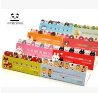 animal markers - Fashion Cartoon Notes Cute Kawaii Post It Bookmark Marker Animal Style Memo Pad Sticky Notes Label Paper Stickers Notepad Stationery