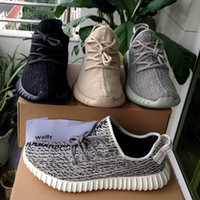 Wholesale Double Box Boost on Sneakers Athletic Shoes from Turtle Dove Pirate Black Moonrock Oxford Tan selection of Kanye West Boost Shoes