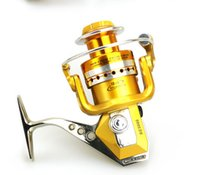 Wholesale Full Metal alloy line cup fishing reels BE1000 Series wood hand left right change for fishing spinning reel rod and reel