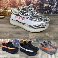 Wholesale High quality Men women athletic Casual shoes V2 Boost Stealth Gray Oxford Tan Pirate Black Running sport shoe sneakers