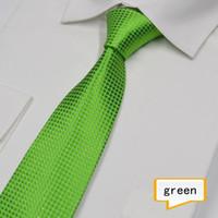 Wholesale men s tie Men s business casual professional ties Polyester yarn arrow type jacquard silver silk tie
