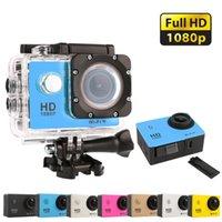 Precio de Mini cámaras wi fi-Venta al por mayor-Deportes de acción 1080P Cámara 2.0 pulgadas 30M ir impermeable Pro 12MP Full HD DV Wi-Fi cámara Mini Cámaras digitales de fotos