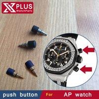 ap offshore - pieces sets mm waterproof black rubber push button for AP oak OFFSHORE watch replacement parts