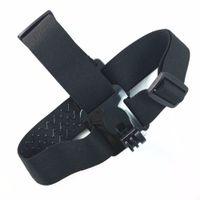 Wholesale Sports DV Adjustable Head Strap Mount Belt for EKEN action camera H9 H9R H8 H8R F60 sj4000 Hero xiaomi yi camera