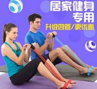 Wholesale The new sit ups fitness equipment home exercise reduce belly thin waist chest pedal pedal pull rope tensioner