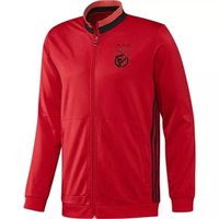Wholesale Benfica Real Madrid United new adult Jackets Tracksuits football training clothes high quality Sweatshirt