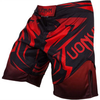 animal hunter - MMA Breathable Shadow Hunter Boxing Shorts Men Quick Dry Training Thai UFC Pants Muay Thai Fight Boxing Clothing