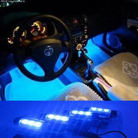 Wholesale auto led interior light Blue LED light Car Charging Footwell surface decoration Lamp For Benz