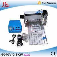 advertising cnc router - 3 aixs CNC router Mini DIY Desktop Hobby CNC Router Kits with w spindle For Sale for Woodworking Advertising
