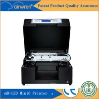 Wholesale Digital plastic id card printer price for AR LED Mini cell phone case printing machine