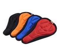 Wholesale New Best price New Cycling Bicycle Bike Silicone Saddle Seat Cover Silica Gel Cushion Soft Pad
