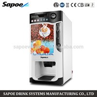 automatic coffee vending machine - cooling and heating automatic instant coin operated tea coffee korean coffee vending machine by Hosalei