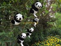 Wholesale 500pcs Plush doll Panda curtain clip bookmark notes clip souvenir as gift for children