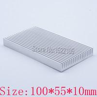 Wholesale Factory Specials MM heatsink the new heat sink cooling block aluminum component thermal block
