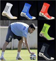 Wholesale New Anti Slip Socks Cotton soccer Socks Men football Socks Calcetines The Same Type As The Trusox