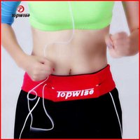 authentic fitness - hot sale colors iphone s plus cell phone fitness sports Elastic authentic running belt unisex waist bag
