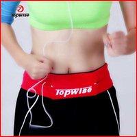 barrel iphone - hot sale colors iphone s plus cell phone fitness sports Elastic authentic running belt unisex waist bag