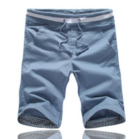Wholesale summer Mens Leisure Shorts hot sale holiday casual high quality cotton colors size M XXXL