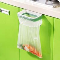 Wholesale Home Kitchen Cabinet Door Mounted Garbage Trash Storage Rubbish Bag Rack Holder for family mother gift