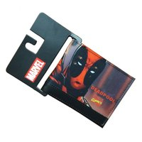 Wallets animations purse holder - Comics DC Marvel Men Wallets Fashion Casual Purse Deadpool Animation Creative Gift Card Holder Bags Wallet carteira masculina
