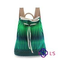 Wholesale L s Brand Shoulder Bag Green Color Cheap and Good DL001