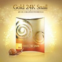 acne forms - Cotton Material gold snail FACIAL mask Sheet Mask Form