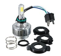Wholesale High Power H4 W LM COB White K V V LM Auto LED Headlight for Motorcycle