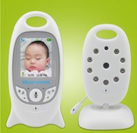 Wholesale 2 G wireless Video inch Color Baby Monitor Security Camera Way Talk IRTemperature monitor with Lullaby NightVision
