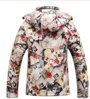 Wholesale 2016 Jackets women s ski clothes windproof triple waterproof jacket down jacket women ski jacket fashion coat