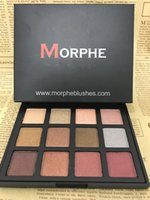Wholesale Cheap Matte Eyeshadow Palettes - Cheap MORPHE Eyeshadow Palette 12 Colors Morphe Pick Me Up Eye Shadow Sets Waterproof Makeup Eyes Cosmetic 12S 12NB 12Z