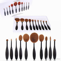 anna rose hair - Hot Anna Oval Makeup Brush Black Rose Gold Branches Professional Makeup Tools Choose