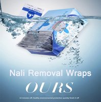 Wholesale 200 New fashion washing oil unloading towel nail polish manicure tool remover wipes environmental cotton towel quick clean
