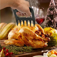 Plastic barbecue utensils - Kitchen Utensils Barbecue Tools Bear Paws Meat Handler Forks with Claws Meat Claws Bear Claws Pork Floss Maker