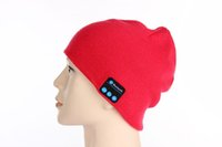 Wholesale Bluetooth hat music hat fashion warm blue hat