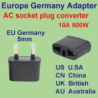 Universal australia plug outlet - Universal AC power plug socket adapter converter US China EU Europe AU Australia UK British all in one business travel outlet