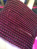 Wholesale Small factory direct supply of natural garnet beads