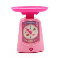 Wholesale MICHLEY Electronic Enjoyable Scales Playset for Kids Pretend Play Plastic Toys Gifts Tools ABS Material ZJ pretend