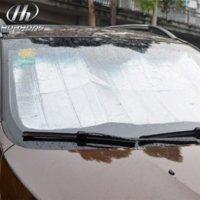 auto dashboard covers - Car foldable reflective shades Auto Windshield Sunshade Sun Shade Windshield Visor Dashboard Cover Block Heat Reflective