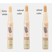 Wholesale Concealer pen Color Highlights And Contours Shade Stick Light Medium Deep Universal Concealer Face foundation Pen SET Cosmetic