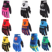 Wholesale Free ship full finger Motocross Gloves Racing Bicycle Cycling gloves colors