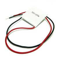 Wholesale TEC1 TEC Thermoelectric Cooler Peltier V New of semiconductor refrigeration TEC1