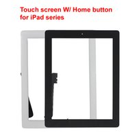 Wholesale High Quality Free DHL Shipping Touch Screen Glass Panel IC Digitizer with Home button For iPad Mini Air