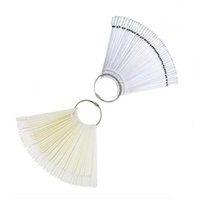 Wholesale Faux Ongles avec Colle False Nails Fan Style Fake Nails Tips Artificial Nails Pallet Nail Art Display Clipper Nep Nagels