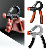 Wholesale New Stainless Steel Adjustable Hand Grip Fitness Pinch Meter Portable Hand Expander Hand Gripper Exerciser Tool Fast Shipping