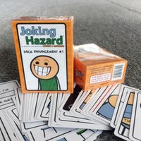 Wholesale IMMEDIATELY DELIVERY Joking Hazard Deck Enhancement Cards Game High quality cards written by low quality people