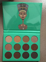 Wholesale Hot Sale Juvia Place Nubian Nubian and Eye shadow Palette ANA twelve Colors eyeshadow palette Women fashion ANAS makeup foundation